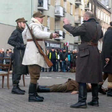 """Przemarsz śladami miejsc kaźni """"Żołnierzy Wyklętych"""" – Praga 1 marca 2020 r."""