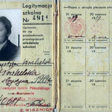 Krystyna Krahelska – jej twarz widnieje na Pomniku Warszawskiej Syrenki