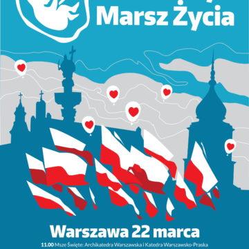 Narodowy Marsz Życia – 22 marca 2020 r. – Warszawa