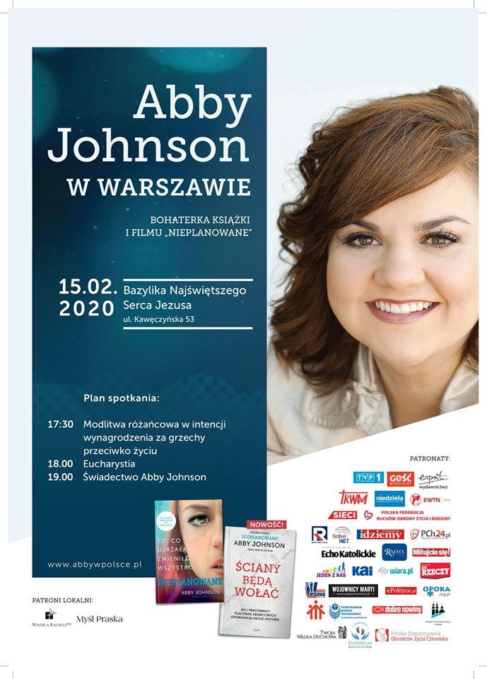 Abby Johnson apeluje do nas o modlitwę przed przyjazdem do Polski. Musimy odpowiedzieć!