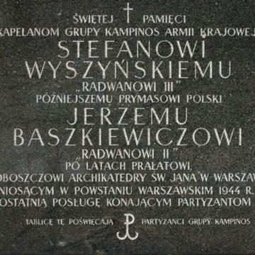 Kapelani z Puszczy Kampinoskiej
