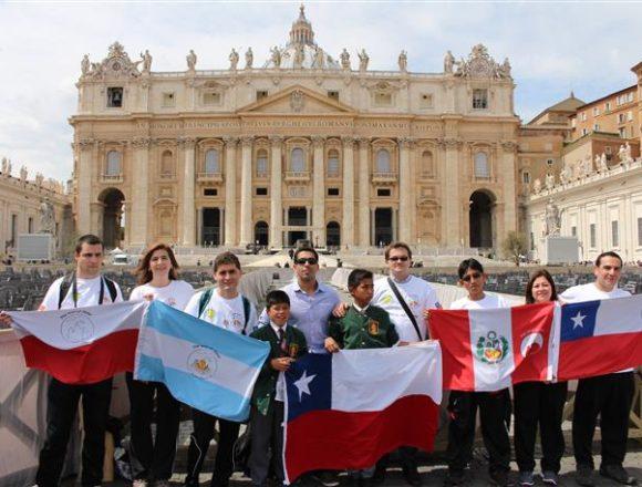 Dziękczynienie za kanonizację Jana Pawła II w drodze…