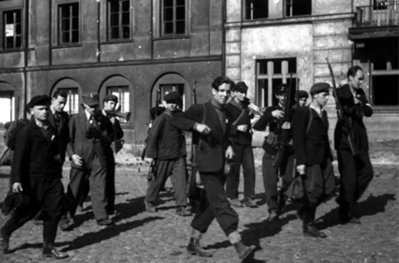 """Wspomnienie o niemieckiej pacyfikacji cmentarza Bródnowskiego w dniu 3.08.1944 Konrada Bednarka pseudonim """"Stasio"""" – sekcyjny 100 Drużyny BS Szare Szeregi – Praga"""