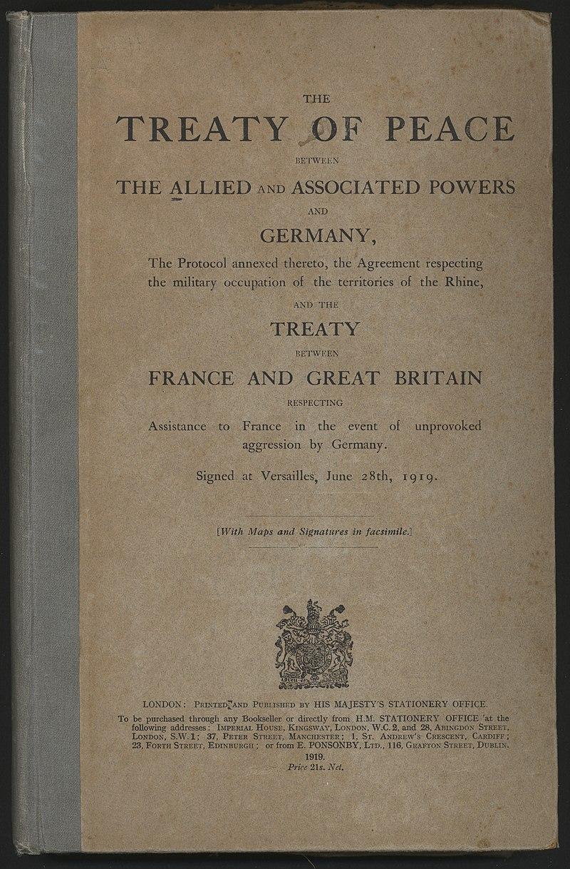 W 101. rocznicę podpisania traktatu wersalskiego