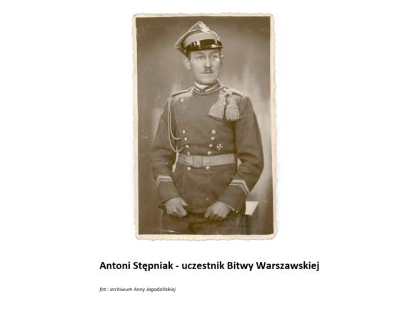 Antoni Stępniak (1894 – 1970) uczestnik Powstania Wielkopolskiego i Bitwy Warszawskiej