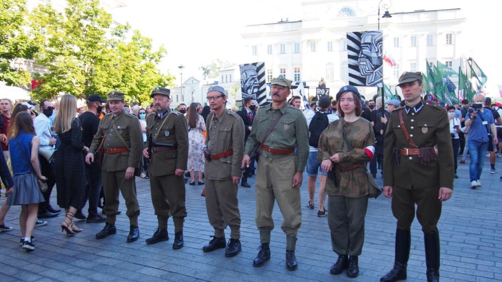 Marsz Zwycięstwa Rzeczypospolitej 15 sierpnia 2020 r.