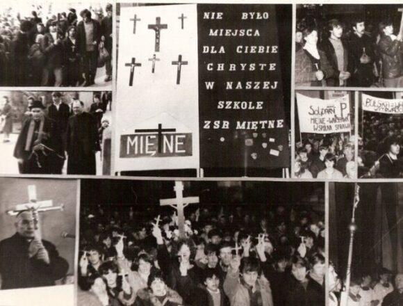 Nie było dla Ciebie Chryste miejsca w naszej szkole…