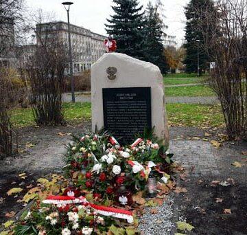 Projekt pomnika gen. Józefa Hallera