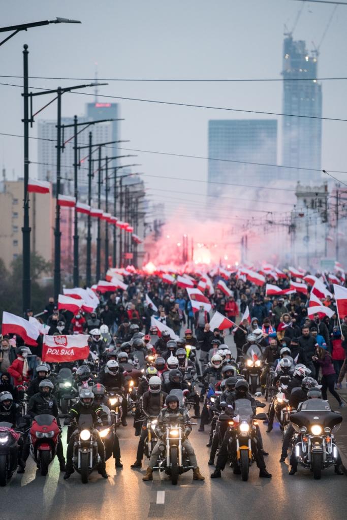 Marsz Niepodległości - 11 listopada 2020 r.